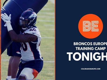 Justin Strnad out for season: Broncos Europe Training Camp Tonight