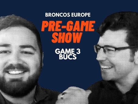 Broncos Europe Pre-Game Show: Week Three