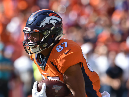 In Detail: Broncos Tight Ends