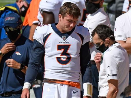 Can the Denver Broncos Save their 2020 Season?