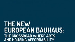 The New European Bauhaus: the crossroad where arts and housing affordability must meet