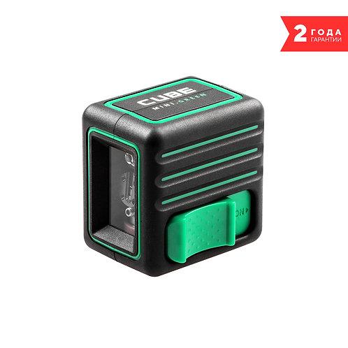 Лазерный уровень ADA CUBE MINI GREEN BASIC EDITION