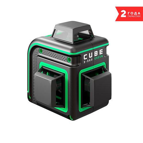 Лазерный уровень ADA CUBE 3-360 GREEN BASIC EDITION