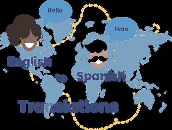 English to Spanish translation_Vespucci Languages