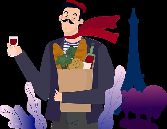 Translate into French - Vespucci Languag