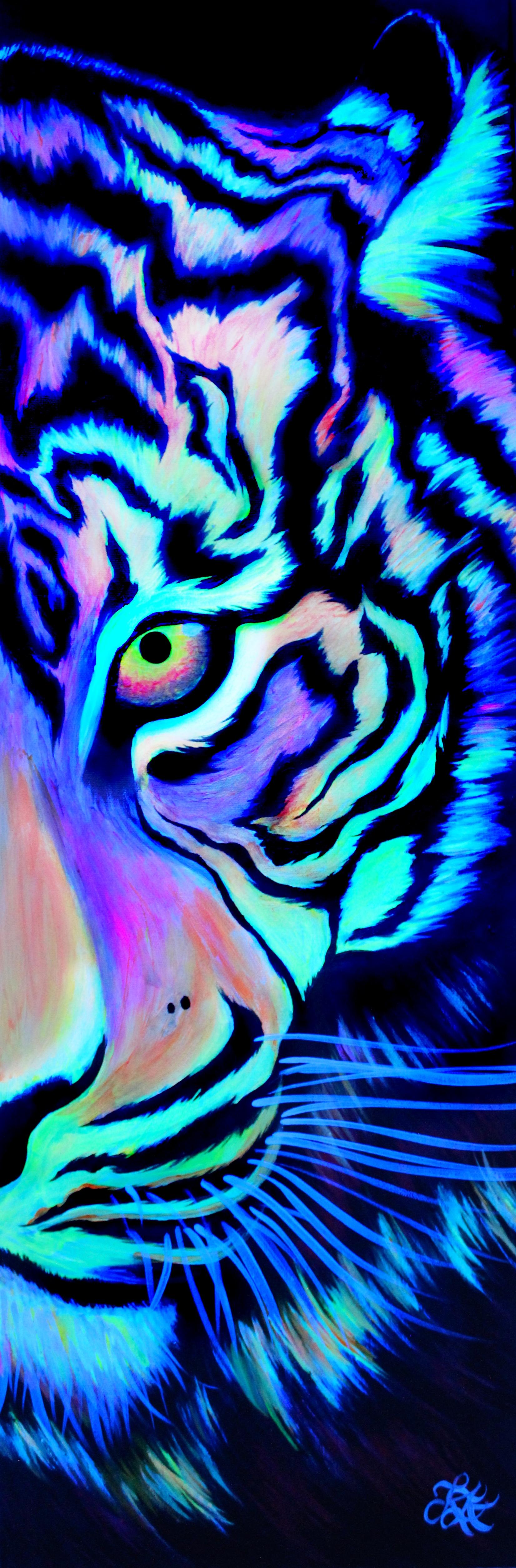 Flourescent Tiger