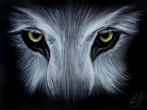 Wolf - Print (Spirit Eyes)