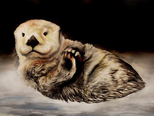 Sea Otter - Print