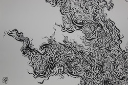 Ink Painting (Close Up #1) ~ Signature