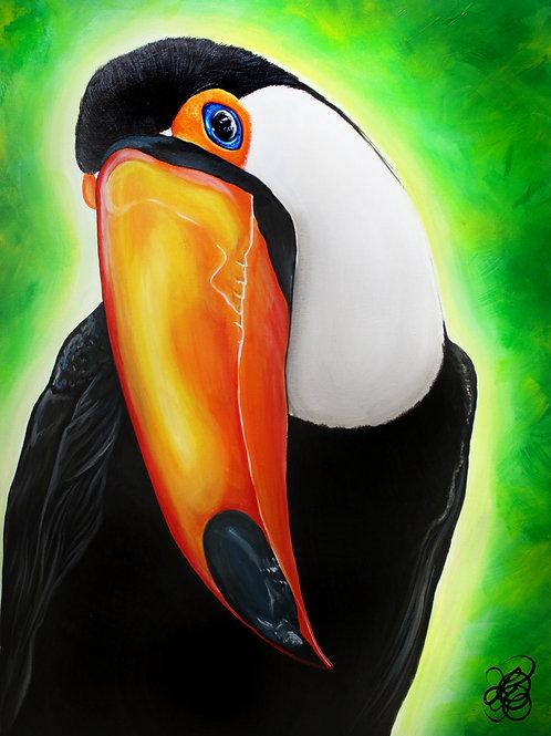 Toucan Painting - Print