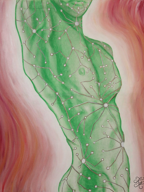Green Man - Print