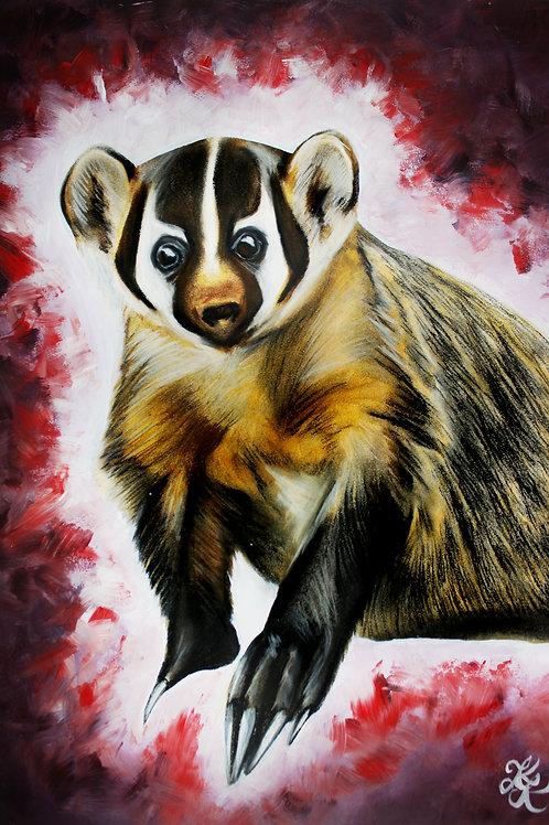 Badger - Print