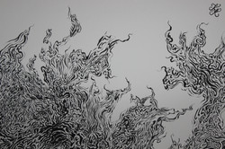 Ink Painting (Close Up #3) ~ Signature