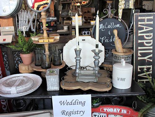 Bridal Registry - Tishomingo