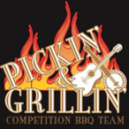 Pickin and grillin competition bbq team.