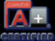 compTIA a+ clear logo Nick Steward.png