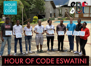 eSwatini's first ever Hour of Code event!