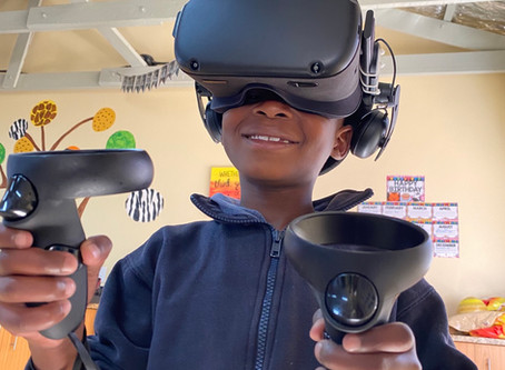 Providing device access in the form of VR