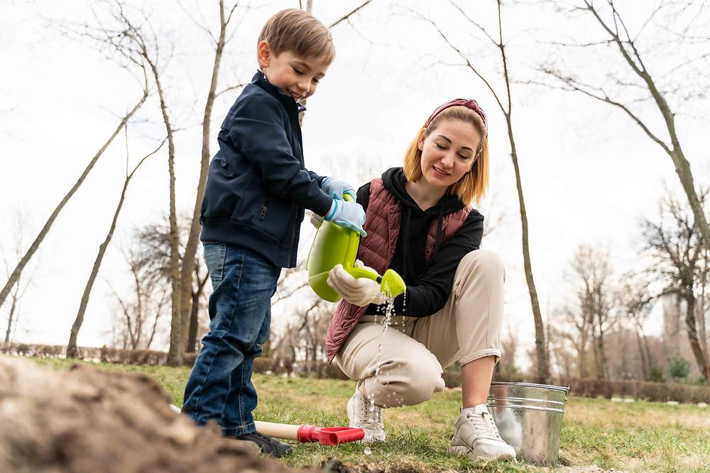 Ahorros para mamás y sus hijos