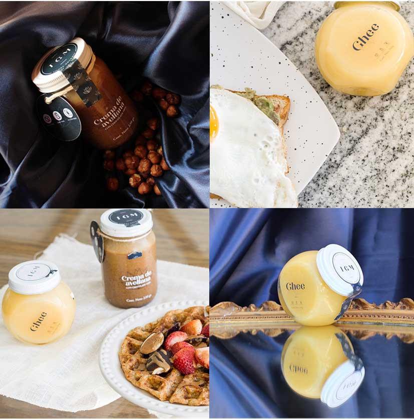 Mantequilla y crema de avellana TGM Tienda Gourmet