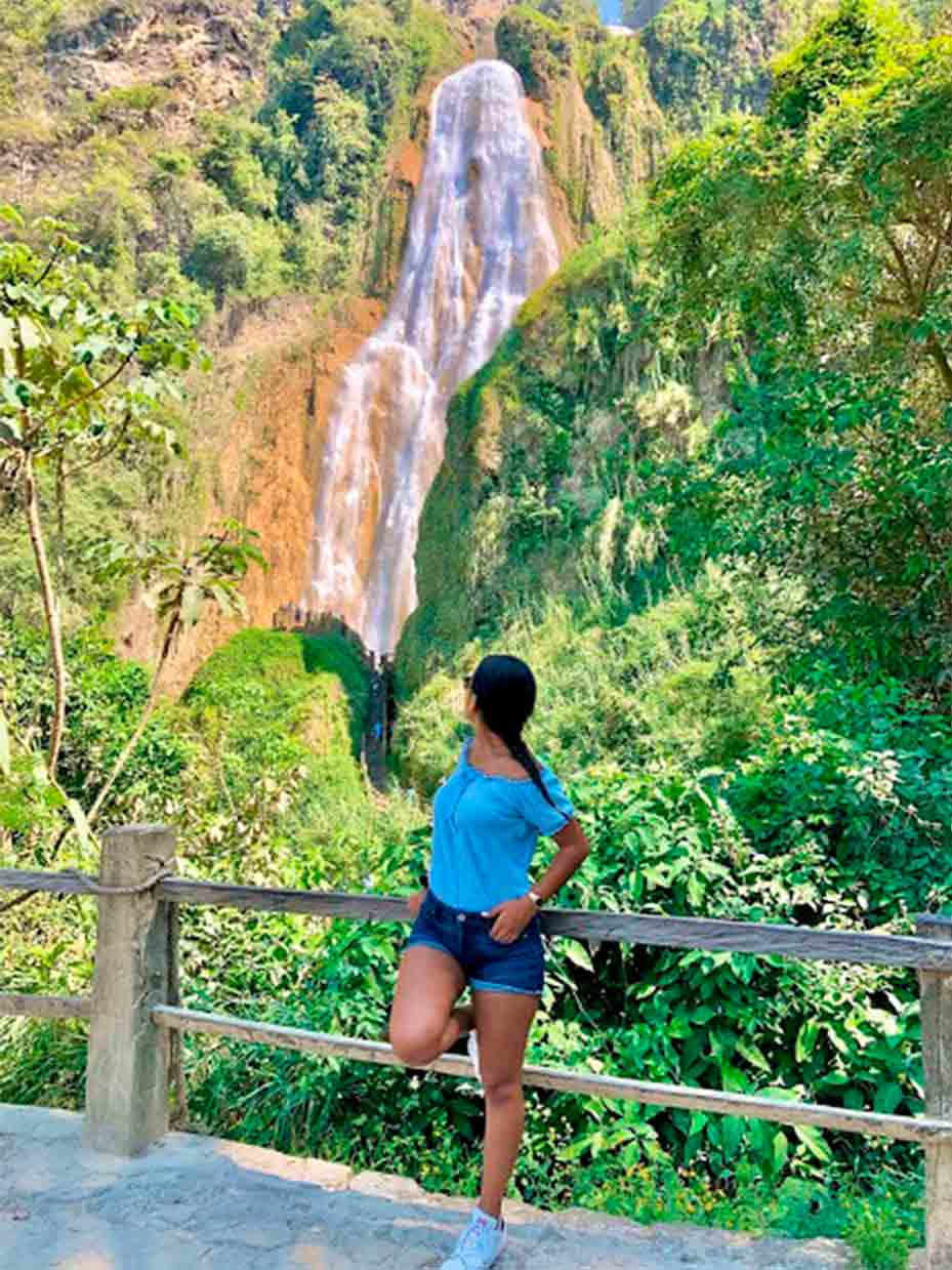 Cascadas el Chiflon Chiapas