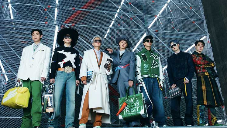 BTS X Louis Vuitton