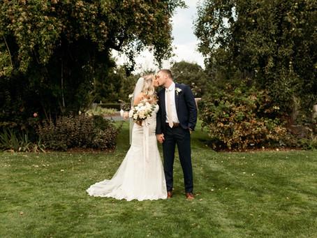 Barn Kestrel Wedding - Presley and James