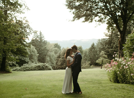 Bridal Veil Lakes Wedding: Billy and Michelle Take Hood River
