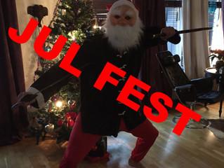Julfest och terminsavslutning, den 22/12 på SFG!