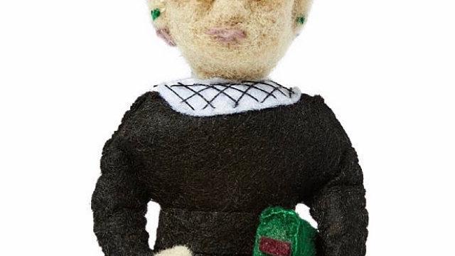 Ruth Bader Ginsburg felt ornament