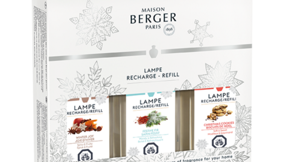Maison Berger Paris lamp refill trio (winter)