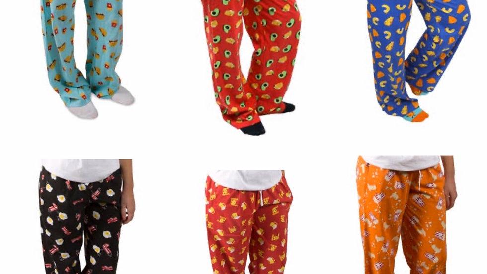 Foodie pajama pants (unisex)