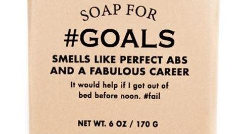 #Goals Soap