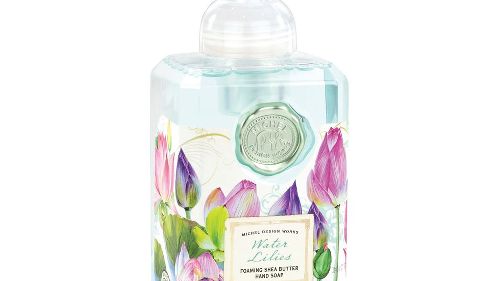 Water Lilies Foaming Soap