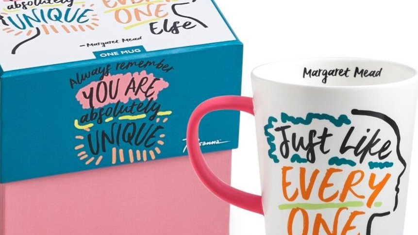 You are absolutely unique mug with gift box