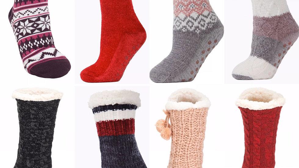 Sherpa slipper socks (adult)