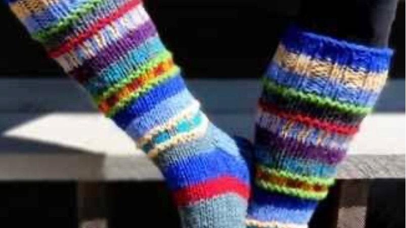 Wool knit socks (unisex)