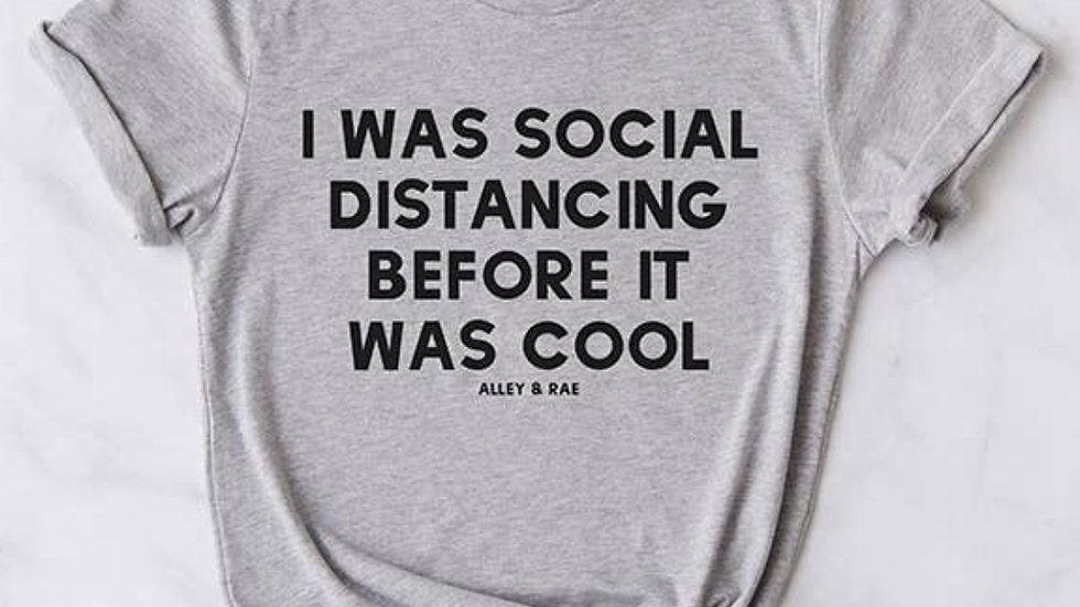 Social distancing t shirt