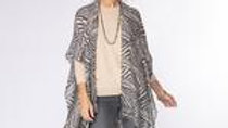 Zebra kimono Wrap/Scarf