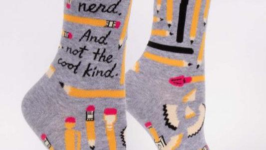 I'm a nerd not the cool kind socks