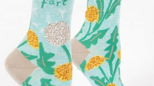 I never fart socks