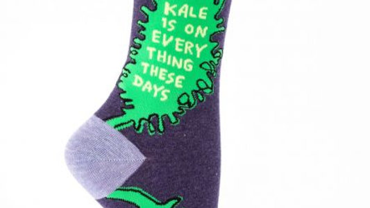 Kale is on Everything Socks
