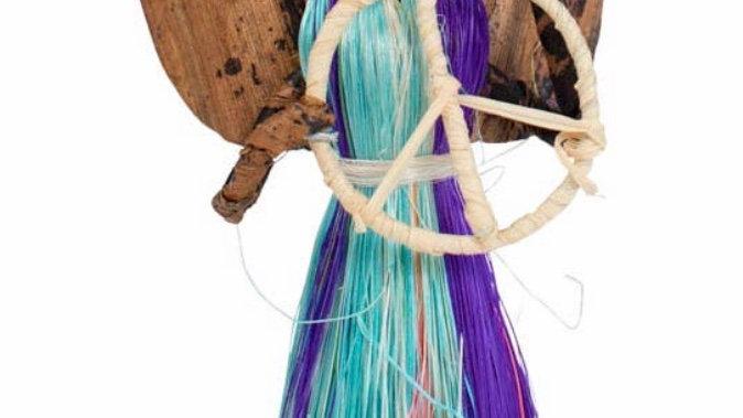Handmade fairtrade Angel of Peace ornament