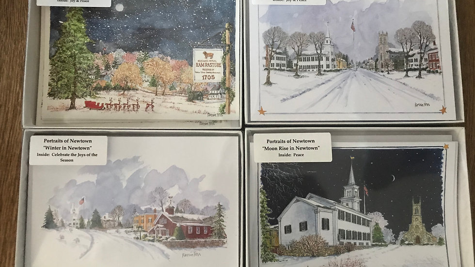Box of 10 Newtown Holiday cards