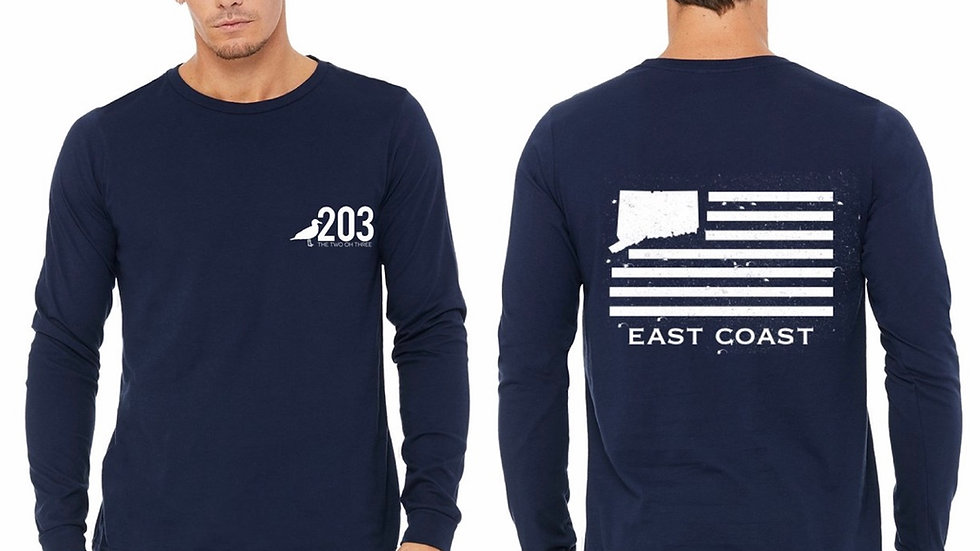Two Oh Three East Coast Long Sleeve Tee