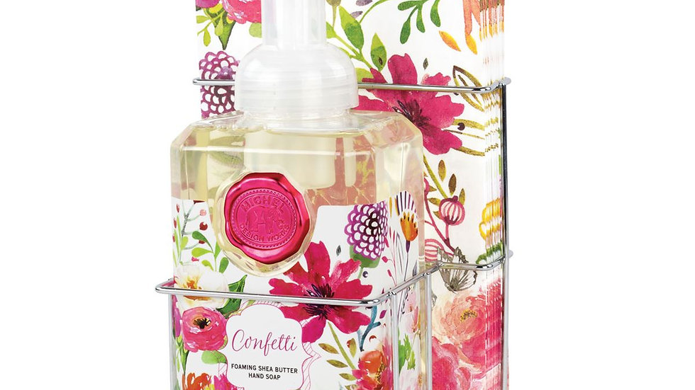 Confetti Foaming Soap and Hostess Napkin Set