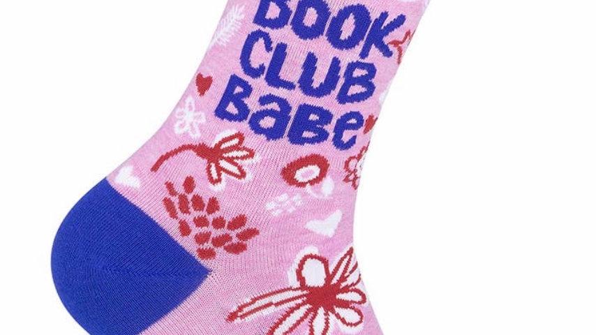 Book Club Babe socks