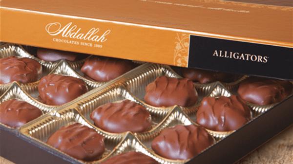 Alligator Chocolates (1/2 lb box)