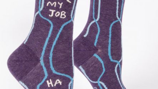 I love my job just kidding socks