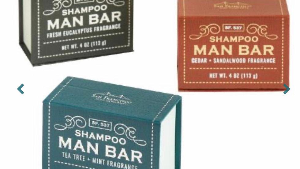 Man Bar Shampoo Bar